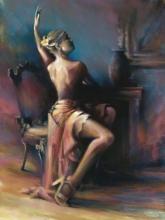 Dancer in Sitting Position