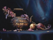 Copper Pot & Onions