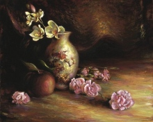 Orchids & Vase