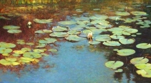 Lily Pond Green/Blue